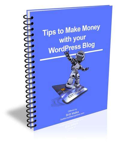tips to make money with your wordpress blog